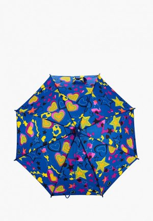 Зонт-трость Zemsa. Цвет: синий