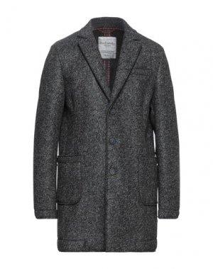 Пальто FRED MELLO. Цвет: свинцово-серый