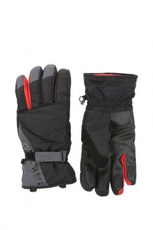 Перчатки Gloves Force Dry M Salomon. Цвет: серый