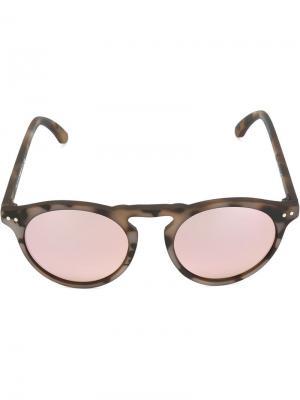 Солнцезащитные очки Cavour Spektre. Цвет: коричневый