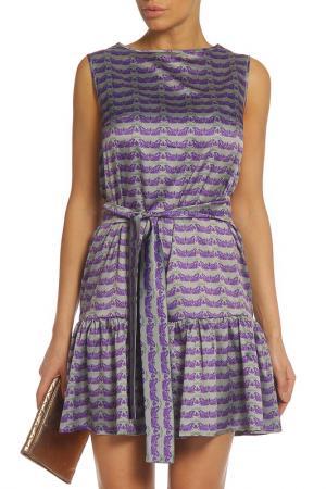 Платье Анна Чапман. Цвет: сиреневый