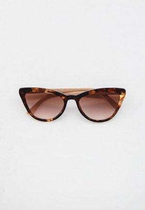 Очки солнцезащитные Prada PR 01VS 07R0A6. Цвет: коричневый