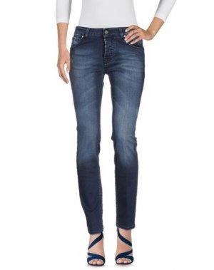 Джинсовые брюки MICHAEL COAL. Цвет: синий