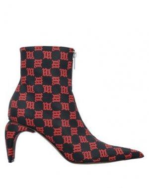 Полусапоги и высокие ботинки MISBHV. Цвет: черный