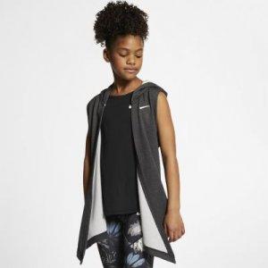 Жилет для тренинга с капюшоном девочек школьного возраста Nike