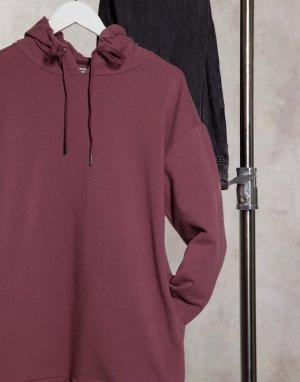 Сливовое платье-худи 2 Blessed Stress-Фиолетовый BB Dakota