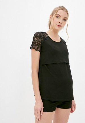 Пижама Hunny mammy. Цвет: черный