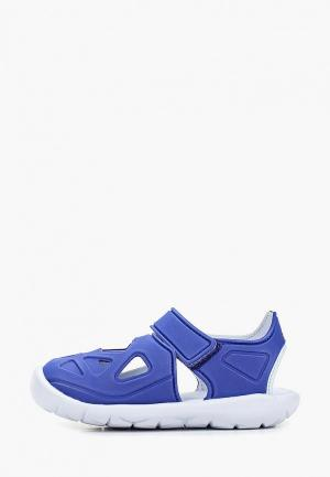 Сандалии adidas FORTASWIM 2 C. Цвет: голубой