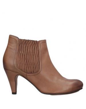Полусапоги и высокие ботинки BOCAGE. Цвет: верблюжий
