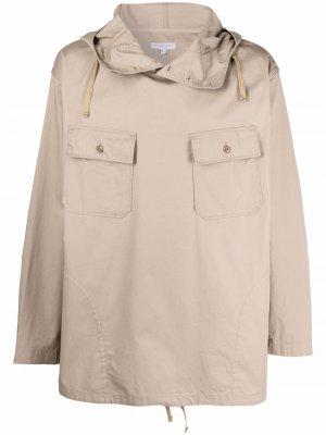 Анорак с капюшоном Engineered Garments. Цвет: нейтральные цвета