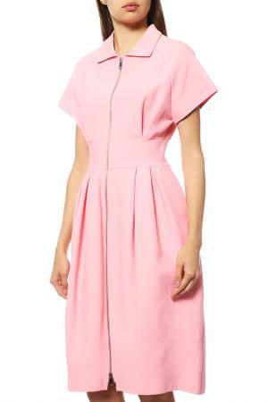 Платье Dior. Цвет: бордовый