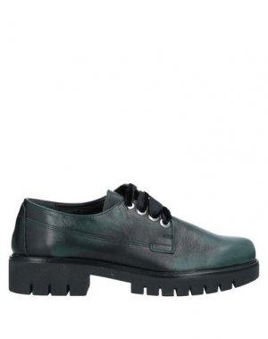 Обувь на шнурках THE FLEXX. Цвет: темно-зеленый