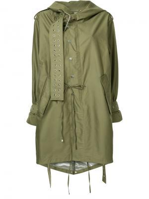Пальто в стиле милитари Monse