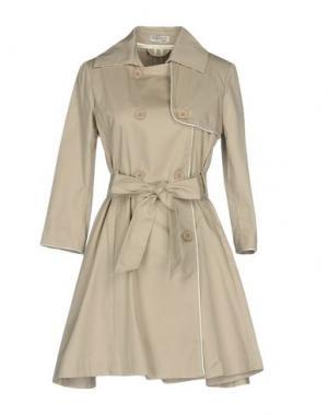 Легкое пальто MAISON ESPIN. Цвет: светло-серый