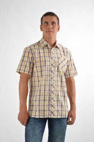 Рубашка Finn Flare. Цвет: разноцветный