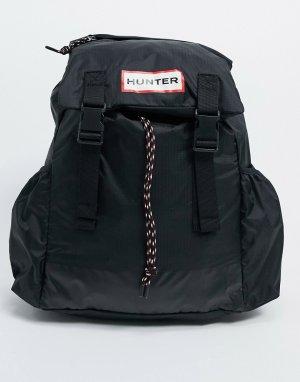Черный складной рюкзак из ткани рипстоп Original Hunter