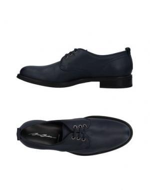 Обувь на шнурках BRUNO BORDESE. Цвет: синий