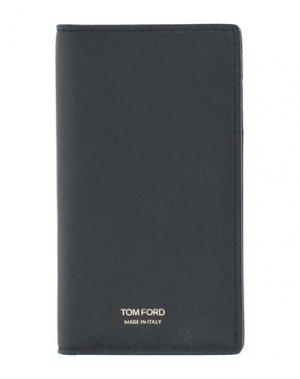 Чехол для документов TOM FORD. Цвет: черный