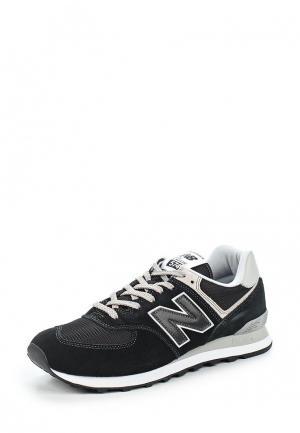 Кроссовки New Balance 574 Evergreen. Цвет: черный