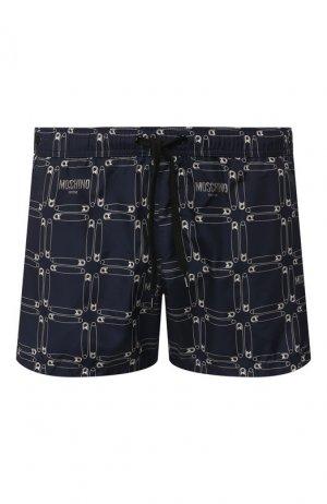 Плавки-шорты Moschino. Цвет: синий