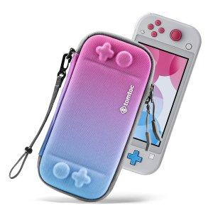 Чехол для Nintendo Switch с узором омбре SHEIN. Цвет: лиловый фиолетовый