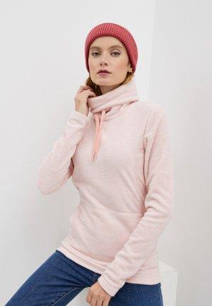 Худи Roxy. Цвет: розовый