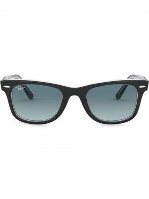 Солнцезащитные очки Wayfarer Ease Ray-Ban. Цвет: черный