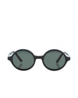 Солнечные очки HAN KJØBENHAVN. Цвет: черный