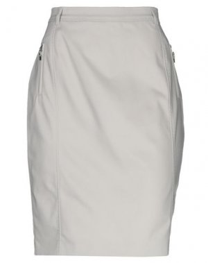 Юбка до колена ELENA MIRO'. Цвет: светло-серый