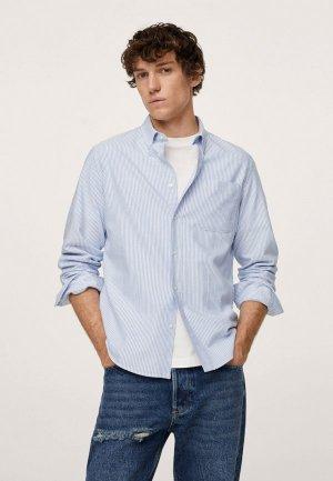 Рубашка Mango Man KODAK. Цвет: голубой