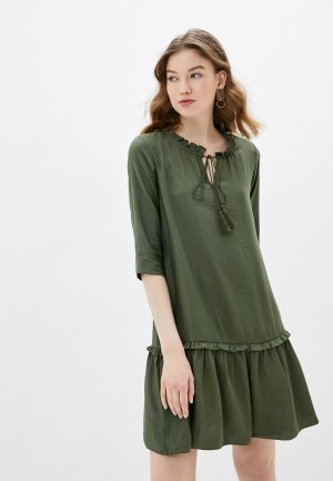 Платье adL. Цвет: хаки