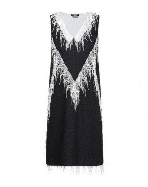 Платье миди CALVIN KLEIN 205W39NYC. Цвет: темно-синий