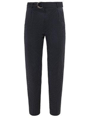 Укороченные хлопковые брюки CELINE