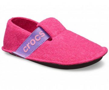 Тапочки детские CROCS Kids Classic Slipper Candy Pink (Розовый) арт. 205349. Цвет: розовый
