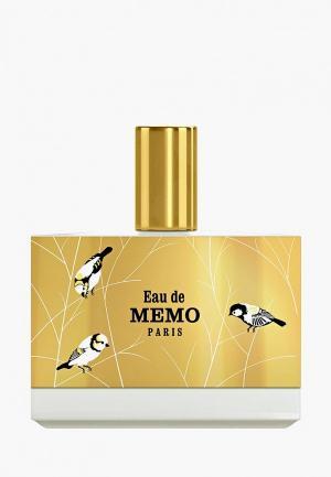 Парфюмерная вода Memo Eau de EDP 100 мл. Цвет: прозрачный