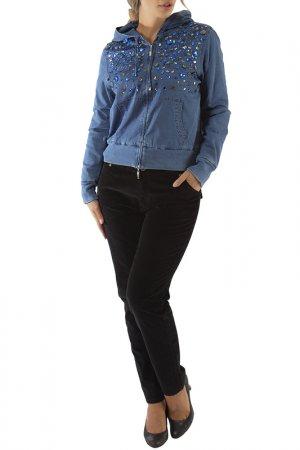 Куртка LAFEI-NIER. Цвет: индиго
