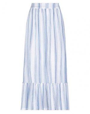 Длинная юбка ANTIK BATIK. Цвет: синий