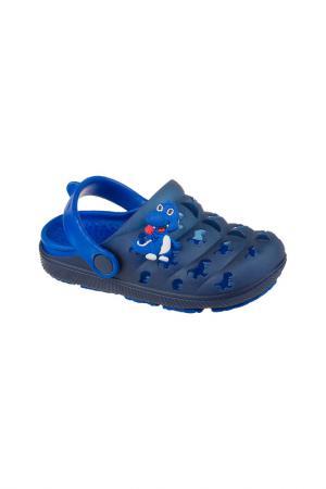 Кроксы MURSU. Цвет: синий