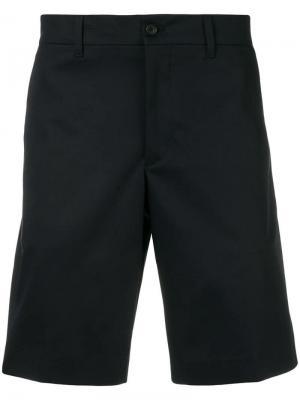 Классические шорты чинос Prada. Цвет: синий
