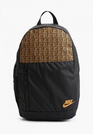 Рюкзак и пенал Nike Y NK ELEMENTAL BKPK - AOP. Цвет: черный