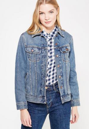 Куртка джинсовая Lee LE807EWZFH35. Цвет: голубой