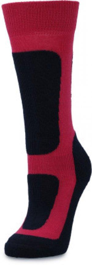 Носки для девочек , 1 пара, размер 28-30 Glissade. Цвет: красный