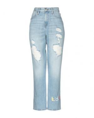 Джинсовые брюки FRAME. Цвет: синий