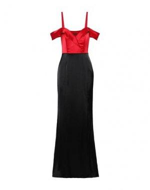 Длинное платье CATHERINE DEANE. Цвет: красный
