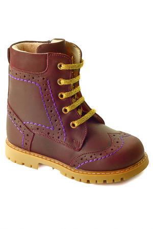 Ботиночки WOOPY. Цвет: фиолетовый