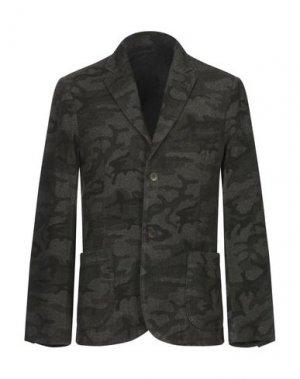 Пиджак DANIELE FIESOLI. Цвет: стальной серый