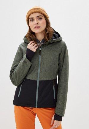 Куртка горнолыжная Brunotti. Цвет: зеленый