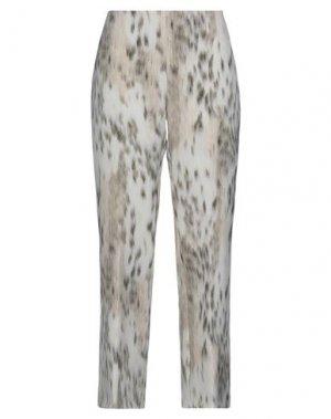Повседневные брюки 1-ONE. Цвет: бежевый
