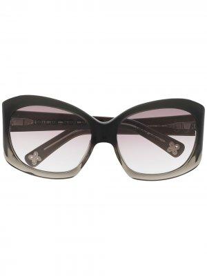Солнцезащитные очки с градиентными линзами 10 CORSO COMO. Цвет: черный