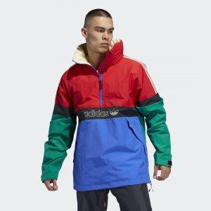Сноубордическая куртка BB Snowbreaker Originals adidas. Цвет: красный